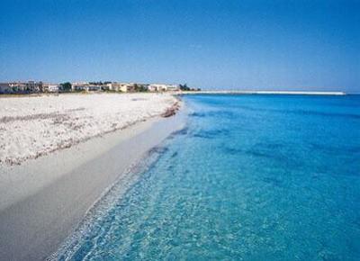 La spiaggia della Caletta a Siniscola