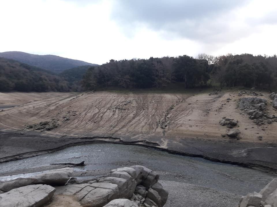 Foto del lago di Gusana il 18 dicembre 2018 (Rosanna Lai)