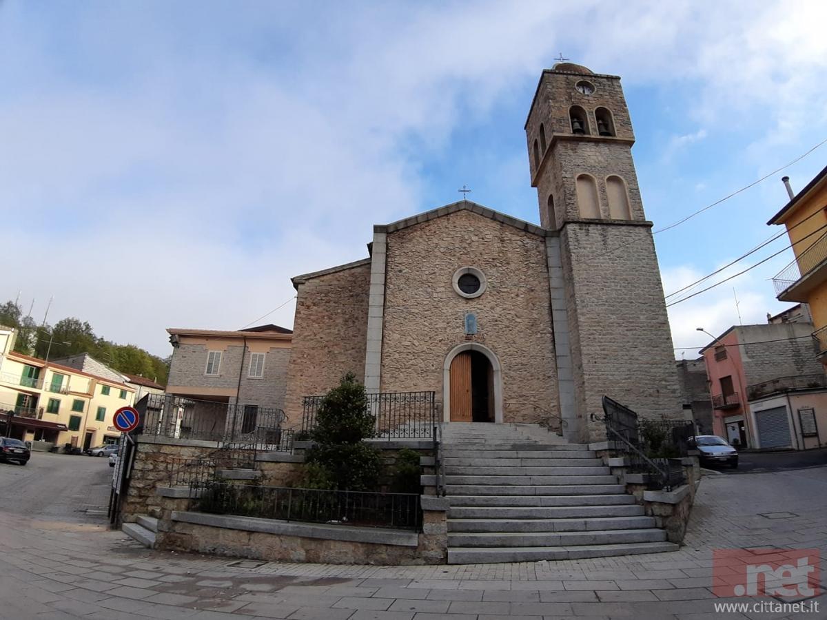 La nuova visuale della Chiesa di San Michele Arcangelo (Foto Maddalena Bussu)