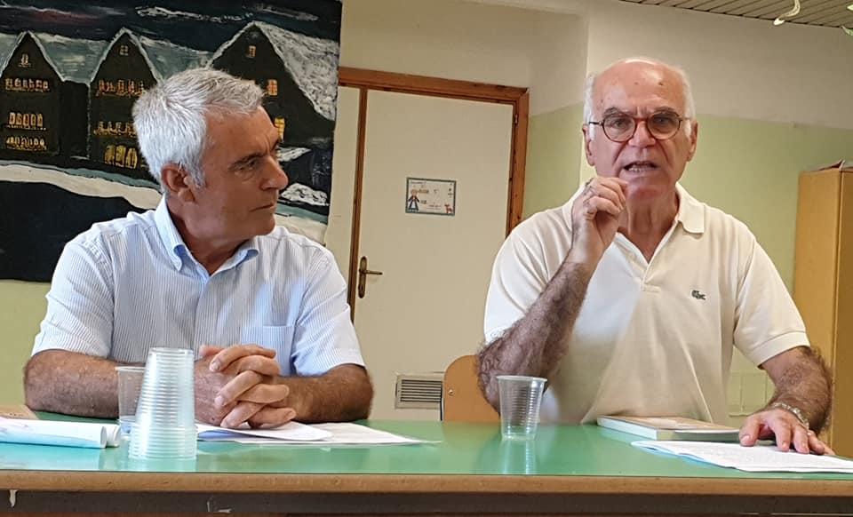 Michele Podda e Francesco Casula