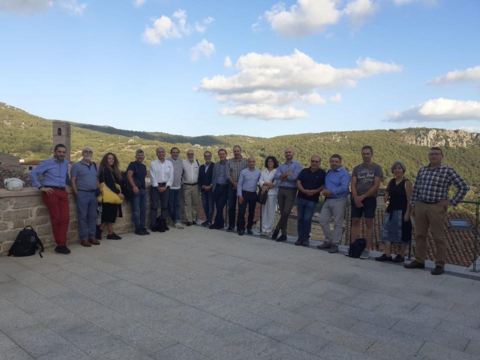 IL GRUPPO Partecipante alla tappa gavoese (immagine tratta dalla pagina facebook Comune di Gavoi)