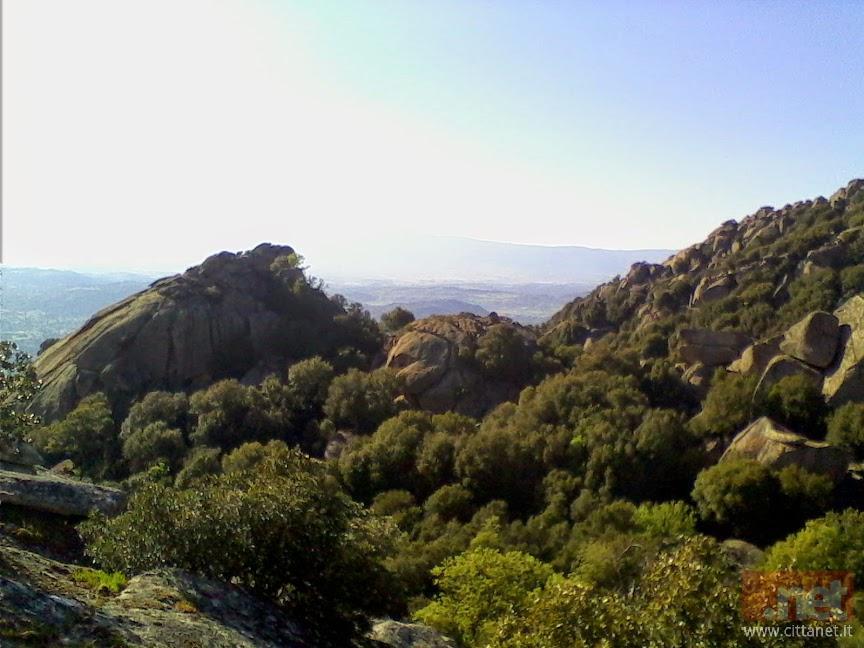 Paesaggio della Barbagia di Ollolai