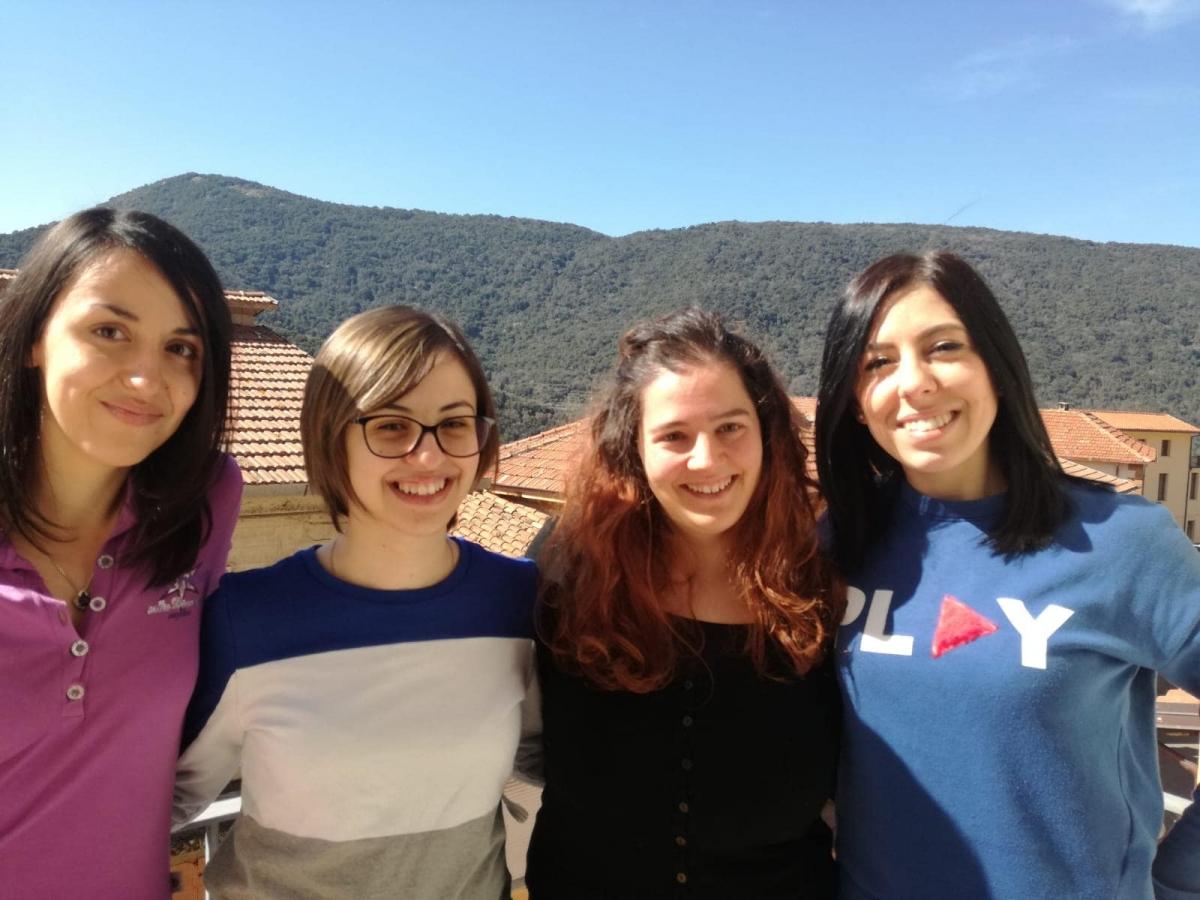 Le quattro volontarie impiegate in progetto
