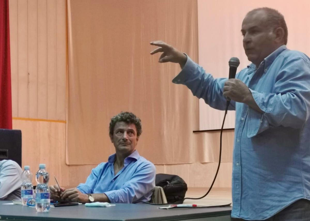 Paolo Littarru e Mauro Peppino Zedda