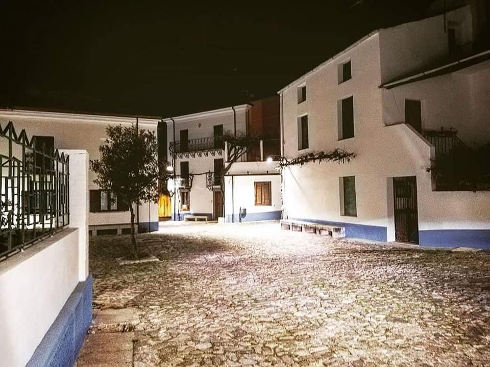 immagine del centro storico di Orani dalla pagina facebook del Comune