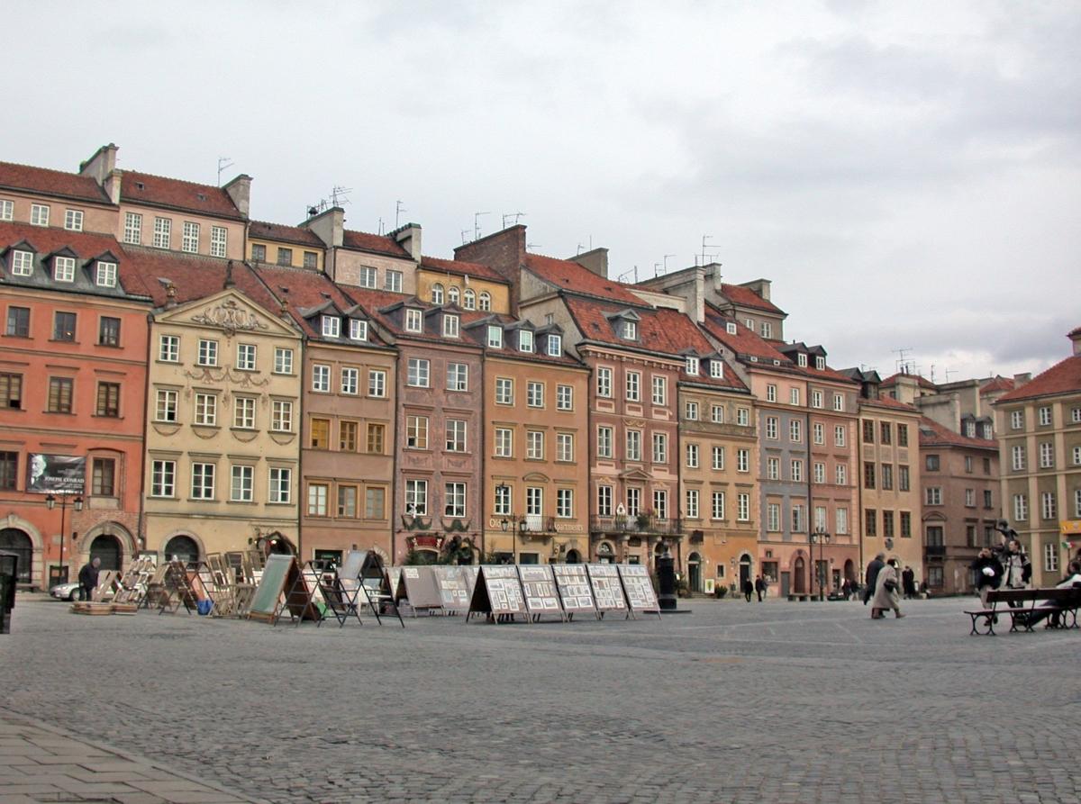 Varsavia in una immagine tratta dal sito wikipedia
