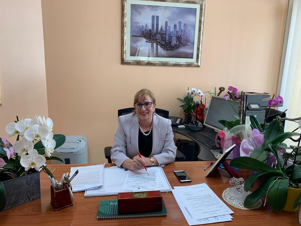 La commissaria Gesuina Cherchi