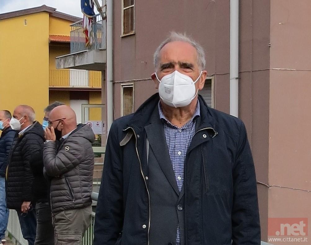 Il sindaco di Gavoi Salvatore Lai